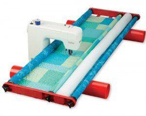 Flynn multi-frame quilting system