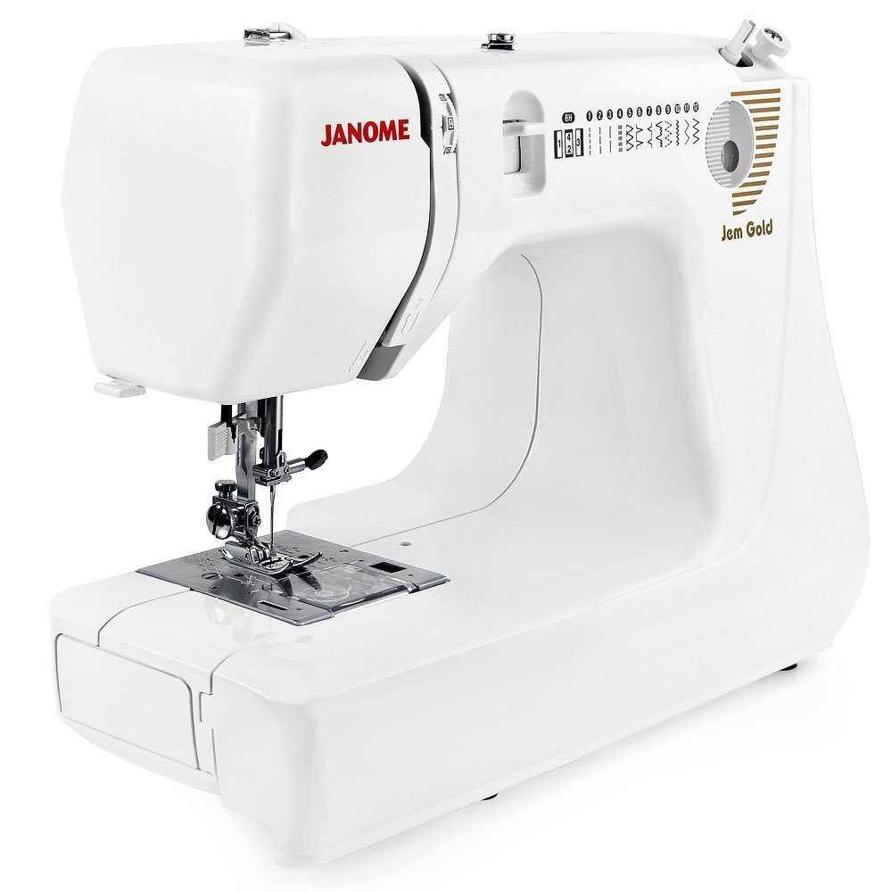 Janome Jem Gold – Lightweight, Low Cost, Big Features. by Shannon Reed Sewing  Machine ...