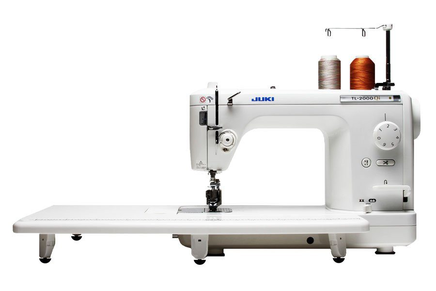 with machine quilting arm tl machines sit down table long juki quilt s