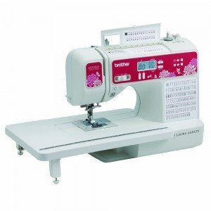 Laura Ashley computerized quilting and sewing machine