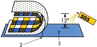 adhesive spray diagram