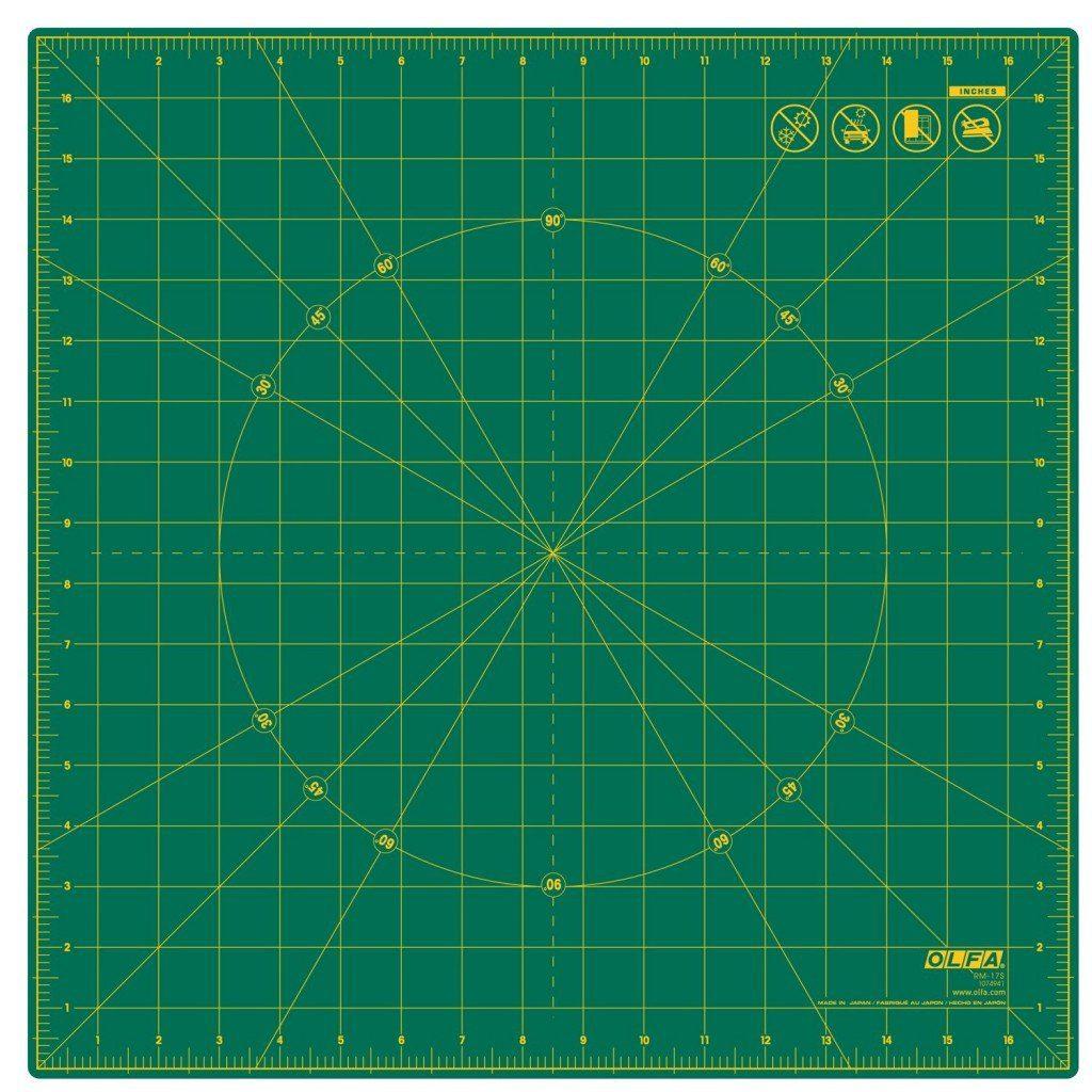 Olfa rotating rotary cutting mat - large