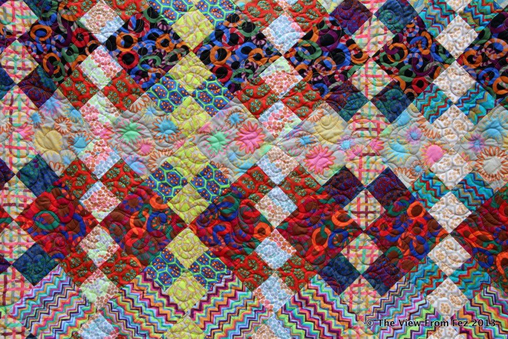quilting small pieces