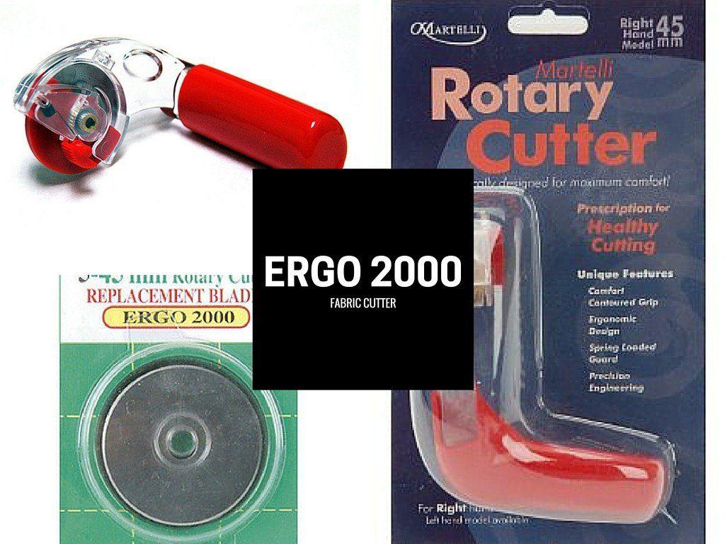 ergo 2000 fabric cutter - best ergonomic rotary cutterst ergono