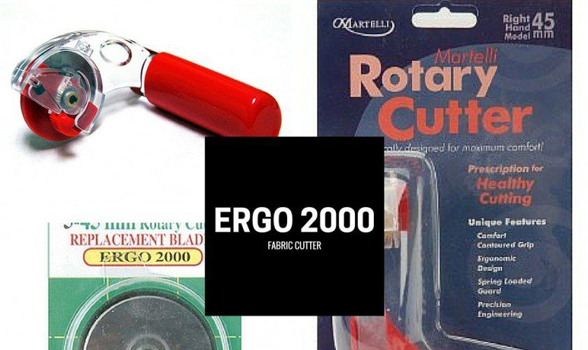 ergo 2000 fabric cutter - best ergonomic rotary cutterst ergono