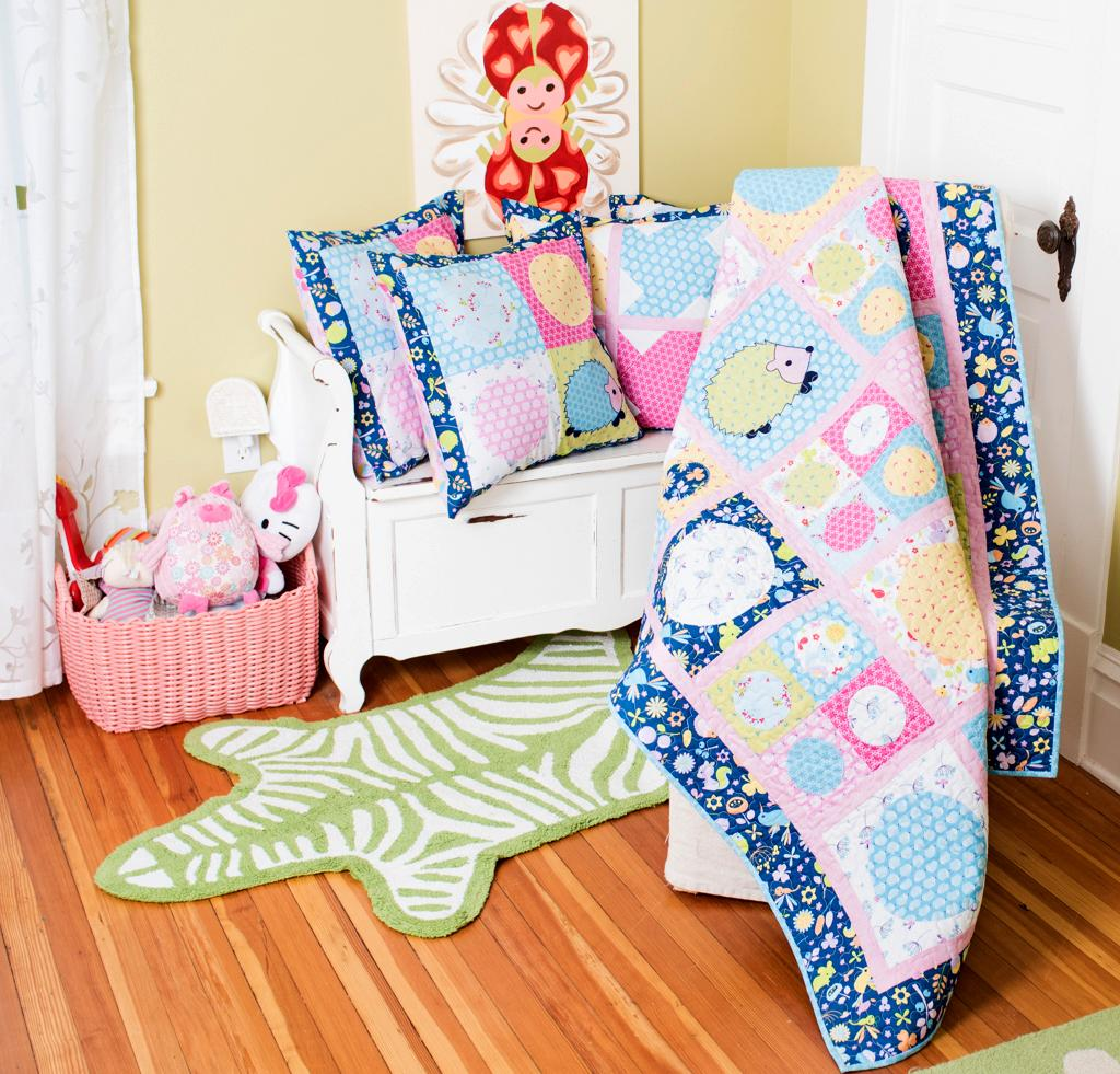 7 Baby Quilt Kits That Will Delight Any Baby Boy or Girl ... : baby quilting kits - Adamdwight.com