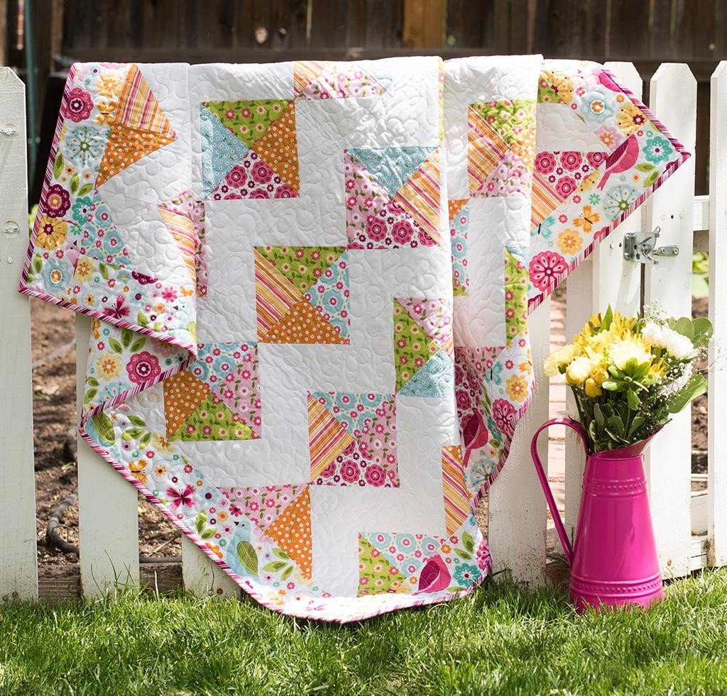 Riley Blake summer song quilt kit