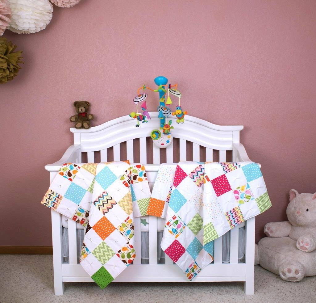 Robert Kaufman charming baby quilt kit