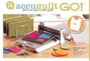 Accuquilt Go! fabric cutting machine