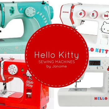 Hello Kitty Sewing machines by Janome