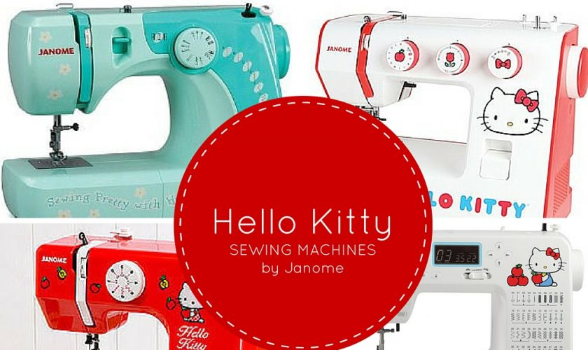 hello kitty sewing machines
