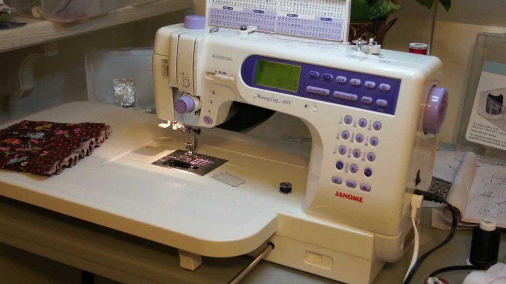 Janome 6500p sewing machine