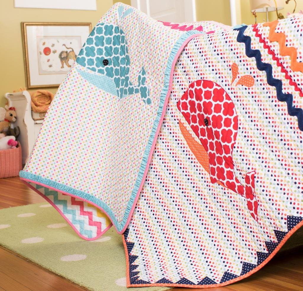 Waly Whale quilt kit