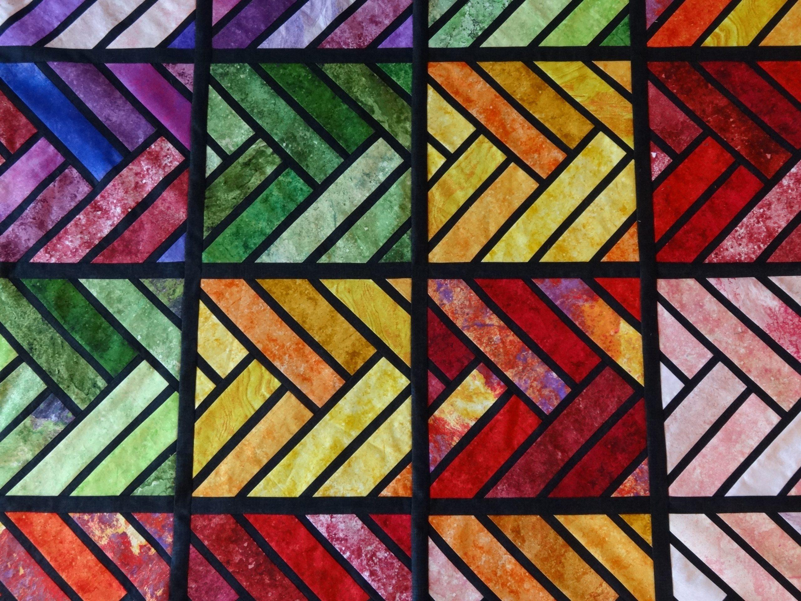 vibrant quilt