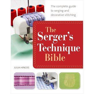 Serger's Technique Bible - Great serger book!