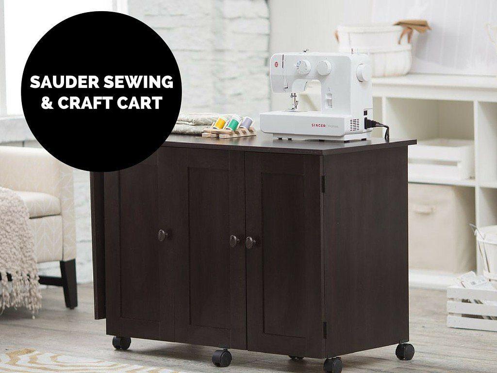 Sauder Sewing and Craft Cart