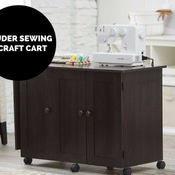 Sauder Sewing and Craft Cart