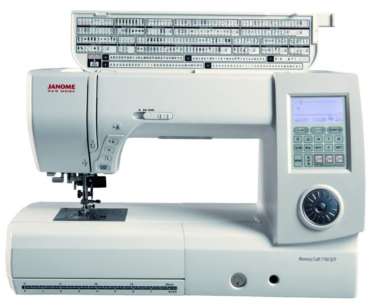 Janome 7700 Sewing and Quilting Machine Review - Quilter's Review : sewing machines for quilting reviews - Adamdwight.com