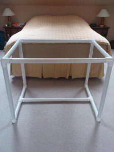 dritz floor frame for quilting