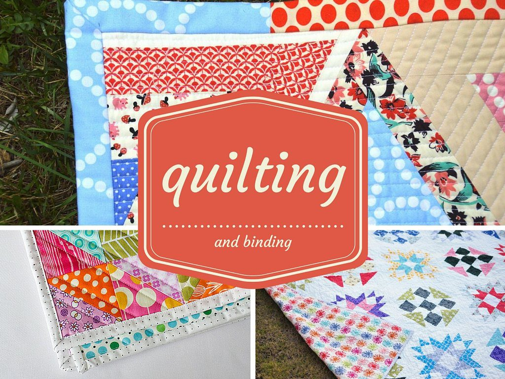 quilting and binding