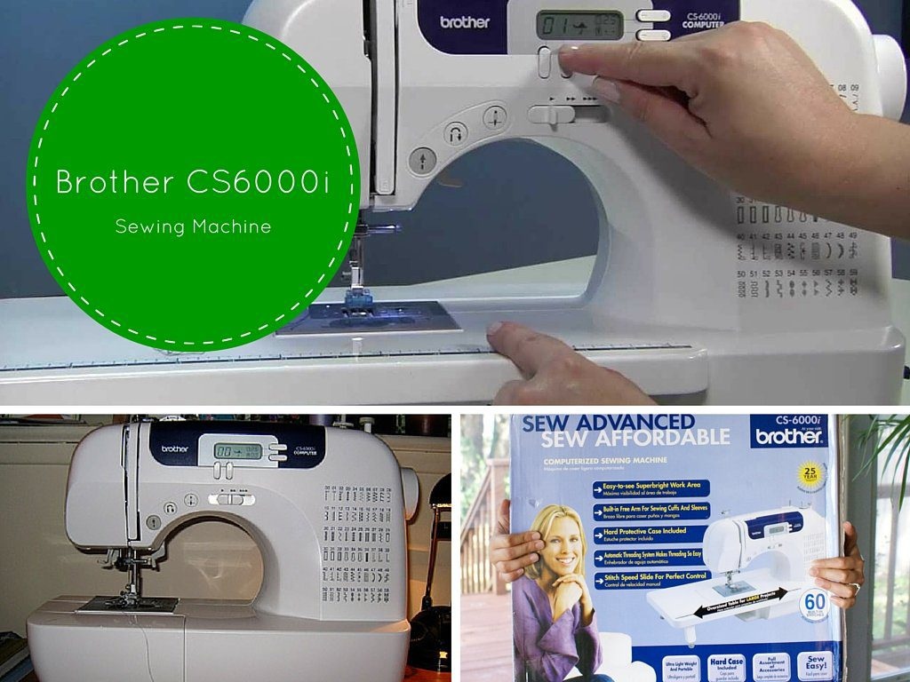 Brother CS-6000i sewing machine