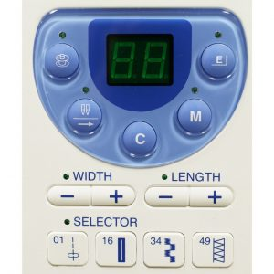 janome mc-6300 digital controls