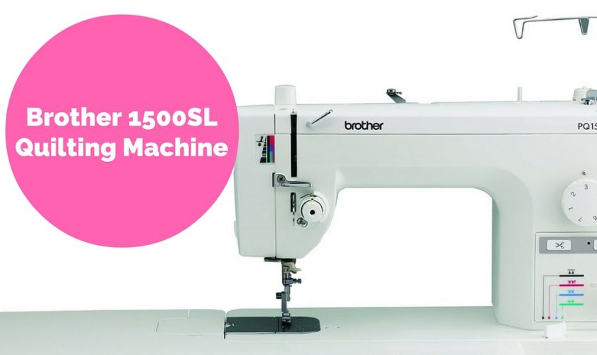 Brother PQ40S Review Our Favorite MidRange Quilting Machine Gorgeous Brother Pq1500sl Sewing Machine