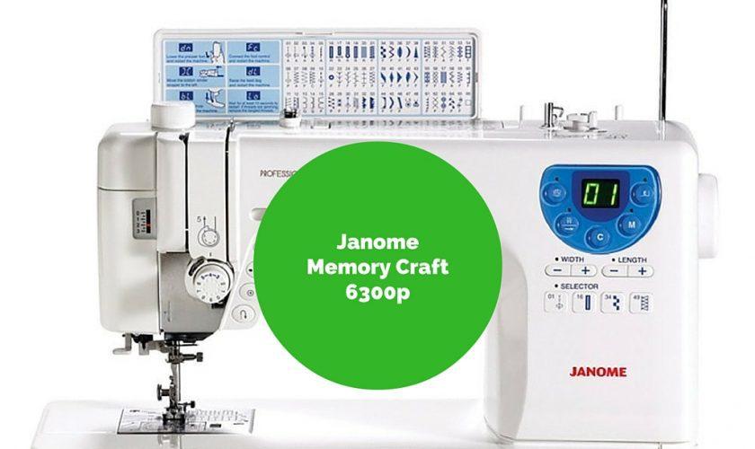 Janome Memory Craft 6300p