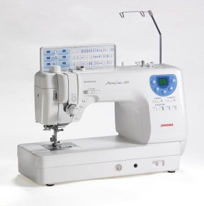 janome memory craft 6300 sewing and quilting machine