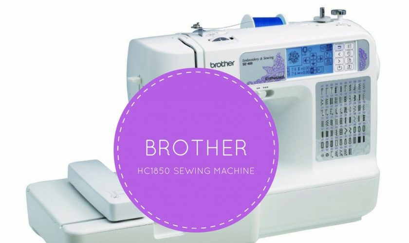 Brother HC40 Review Inexpensive FeaturePacked Quilting Machine Stunning Brother Hc1850 Sewing And Quilting And Embroidery Machine