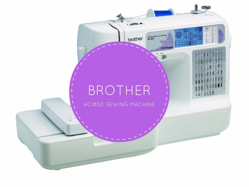 Brother HC1850 Review - Inexpensive, Feature-Packed Quilting Machine : quilting sewing machine recommendation - Adamdwight.com