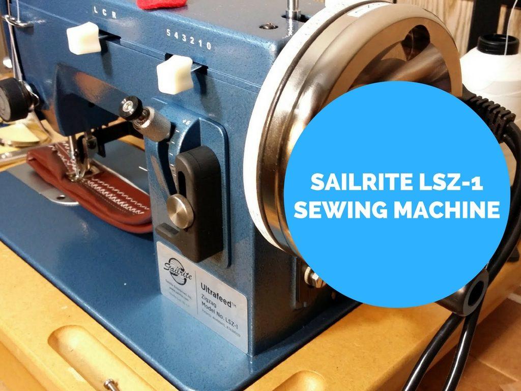 sailrite heavy duty sewing machine