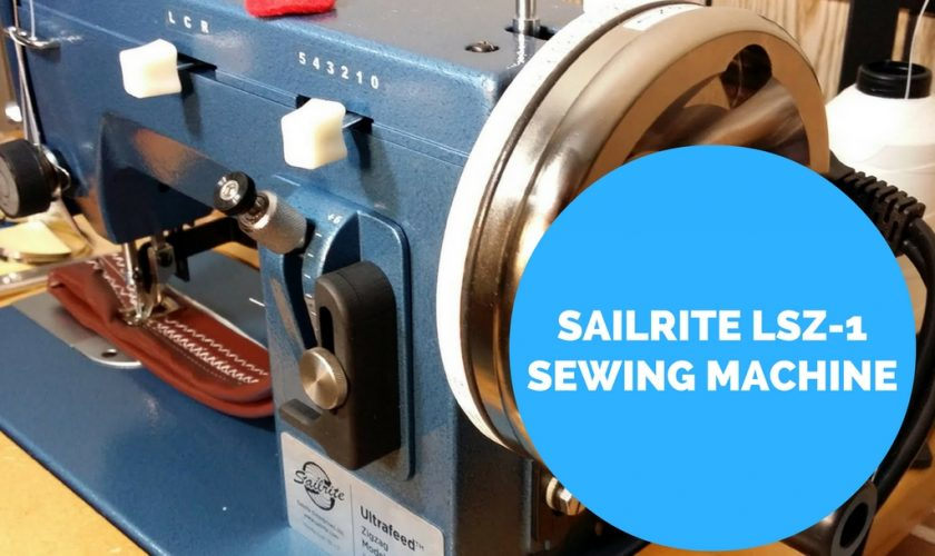 sailrite heavy duty sewing machine