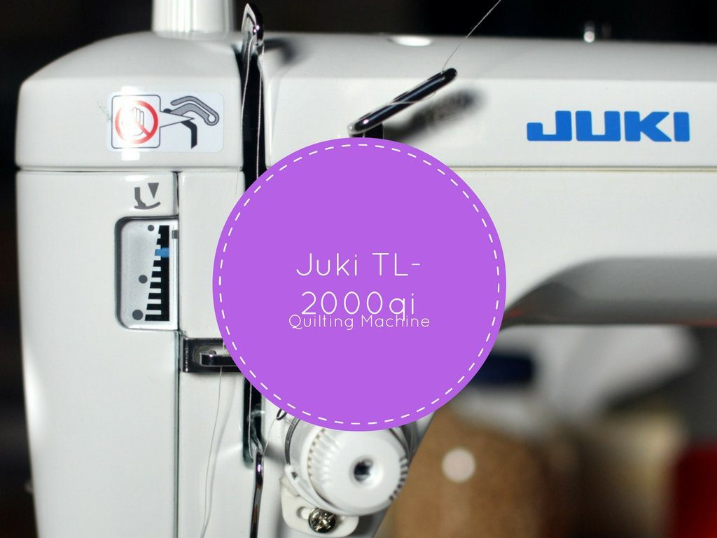 Juki quilting machine