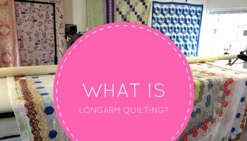 what is long arm quilting?
