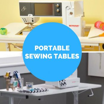 portable sewing machine craft tables