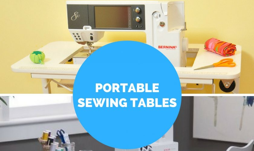 Our Two Favorite Portable Sewing Machine Tables Crafting Made Easy Stunning Gidget Sewing Machine Table