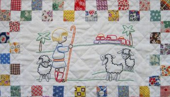 Embroidered-Christmas-Quilt