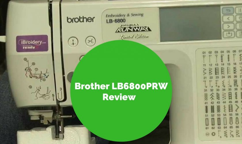 Brother Lb40prw Sewing And Embroidery Machine HandsOn Review Amazing Brother Project Runway Sewing And Embroidery Machine