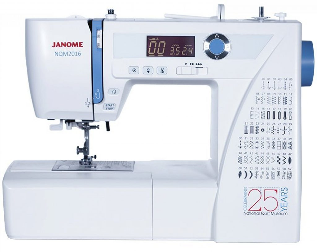 Janome NQM2016 National Quilt Museum quilting machine