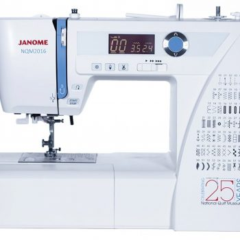 Janome NQM2016 National Quilt Museum quilting machine