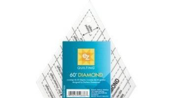 EZ Quilting 882670182A 60-Degree Diamond Acrylic Shapes