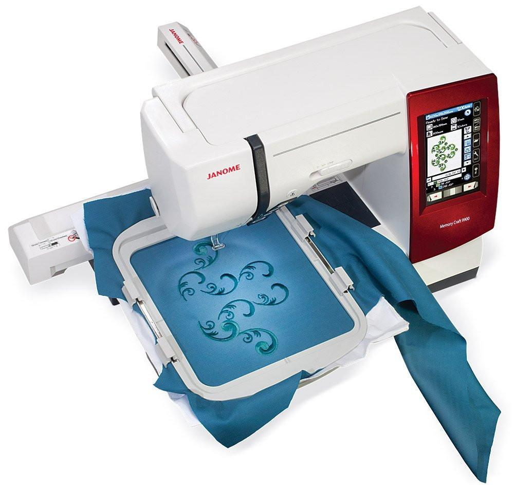 Janome Horizon Memory Craft 12000 Sewing and Embroidery Machine