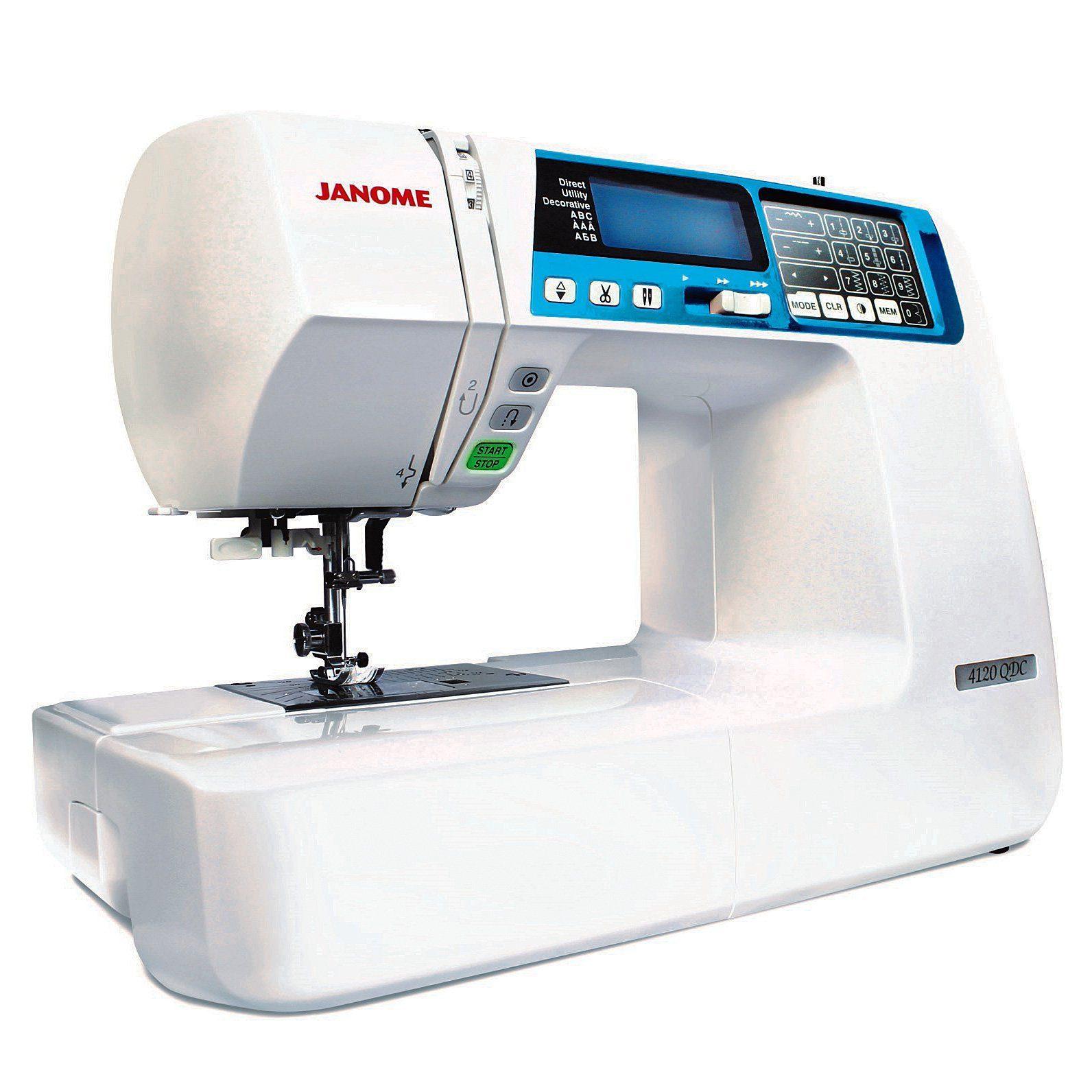 Janome 4120QDC Computerized Sewing Machine