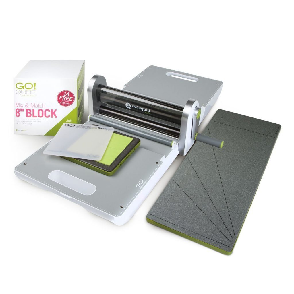 AccuQuilt Ready. Set. GO! Ultimate Fabric Cutting System
