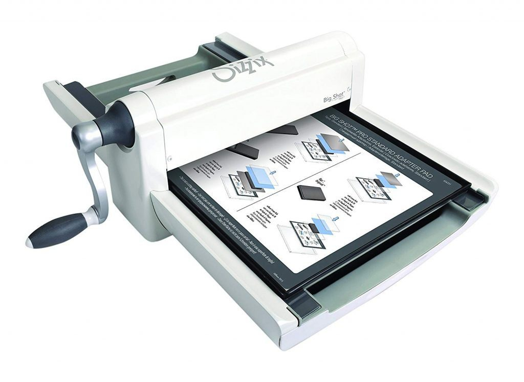 Sizzix Big Shot Plus Manual Die Cutting and Embossing Machine