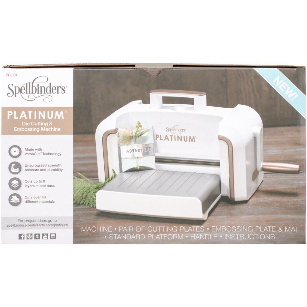 Spellbinders PE-100 Platinum 6.0 Die Cutting and Embossing Machine