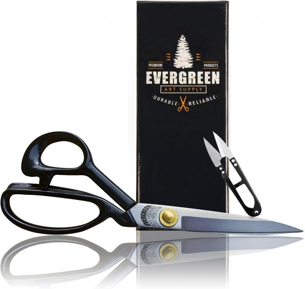 Evergreen Art Supply heavy duty fabric scissors